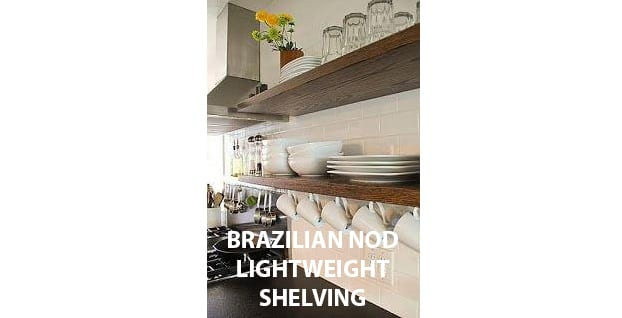 BRAZILIAN NOD LIGHTWEIGHT SHELVING